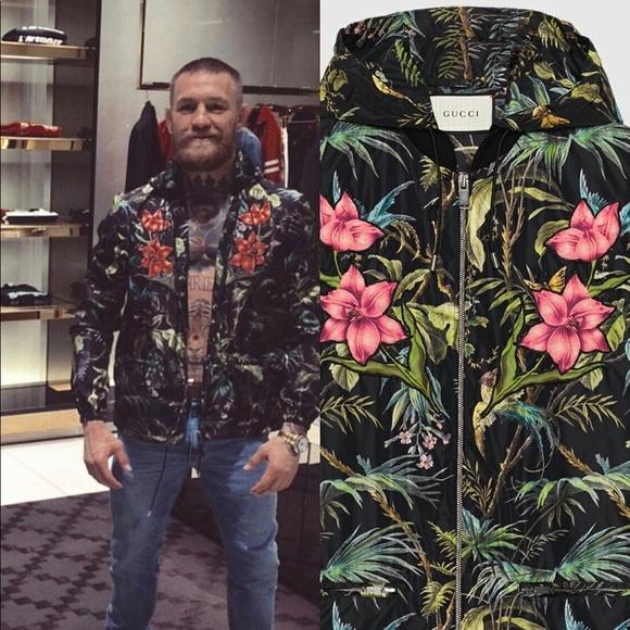 e1d460650 Gucci Jackets & Coats | New 1520 Black Tropical Nylon Jacket Small ...
